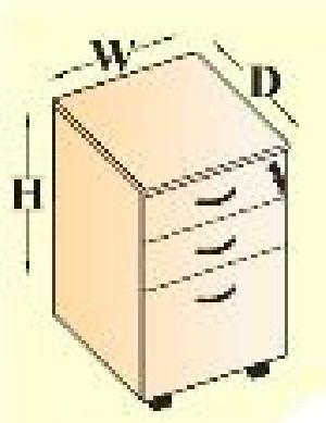 MOBILE PEDESTAL (2D/1F)