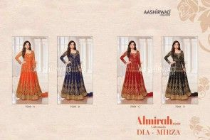 Almirah Silver Santoon Embroidered gown