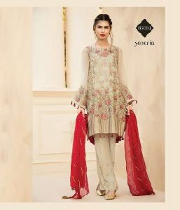 Embroidered Heavy Georgette Suit