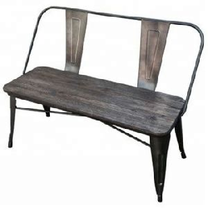 solid mango wood 2 seater Patio Bench