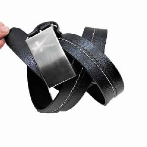 Double layer plus leather belt