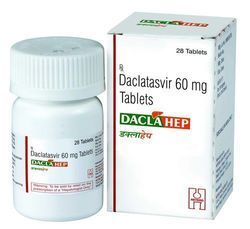 Dacla Hep 60 Mg Tablets