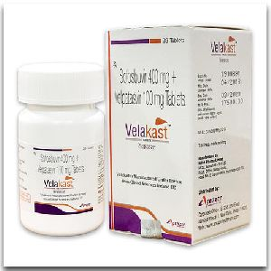 Velakast 400 Mg + 100 Mg Tablets