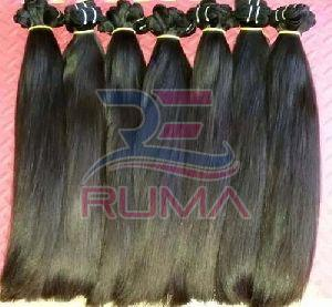 Double Drawn indian hair