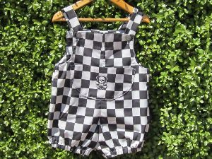 Kids Checkered Jumpsuits