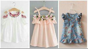 Girls Designer Frock 10