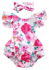 Girls Printed Frocks