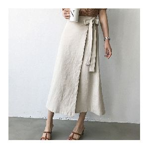 Ladies Plain Long Skirts
