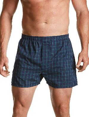 Mens Checkered Boxer Shorts 01