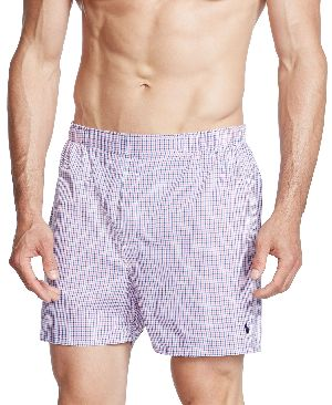 Mens Checkered Boxer Shorts 02