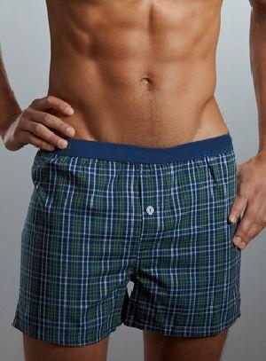 Mens Checkered Boxer Shorts 03