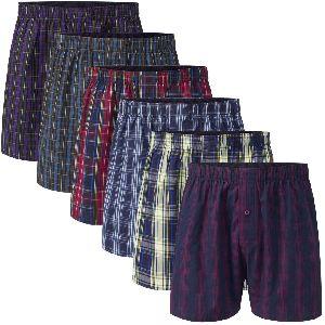Mens Checkered Boxer Shorts 07