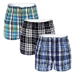 Mens Checkered Boxer Shorts 11