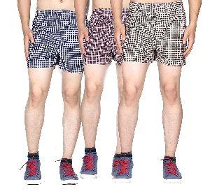Mens Checkered Boxer Shorts 12