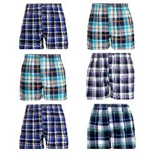 Mens Checkered Boxer Shorts 13