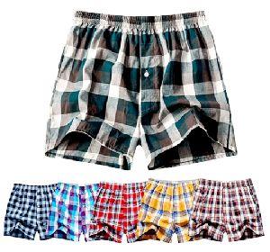 Mens Checkered Boxer Shorts 14