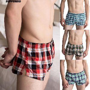 Mens Checkered Boxer Shorts 15