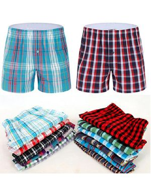Mens Checkered Boxer Shorts 16