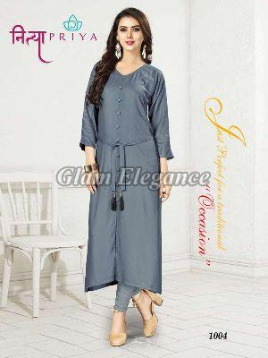 1004 Nityapriya Collection Rayon Kurti