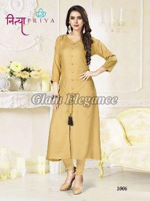 1006 Nityapriya Collection Rayon Kurti