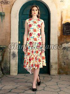 FK-2 Synthetic Kurtis