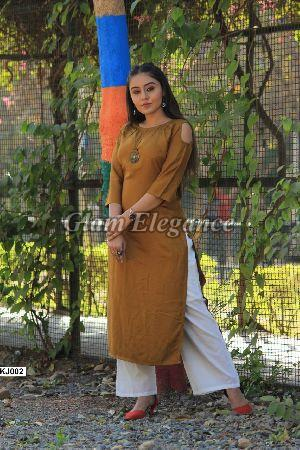 KJ002 KJ VOL-1 Rayon Cotton Kurti