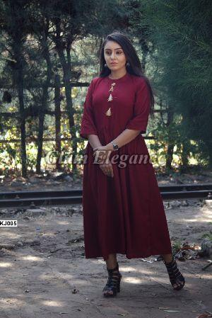 KJ005 KJ VOL-1 Rayon Cotton Kurti