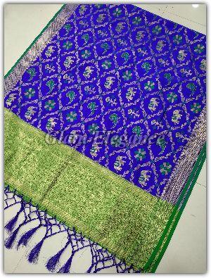 Minali VOL-1 Banarasi Silk Dupatta 01