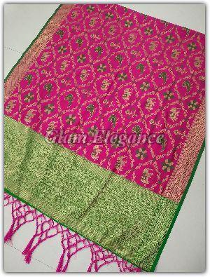 Minali VOL-1 Banarasi Silk Dupatta 03