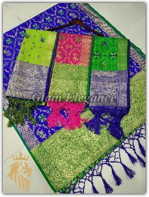 Minali VOL-1 Banarasi Silk Dupatta 04