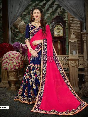 MN351 Manohari Roohi Hit Colors VOL-3 Designer Sarees