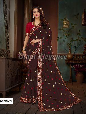 MN428 Manohari Roohi Hit Colors VOL-4 Designer Sarees