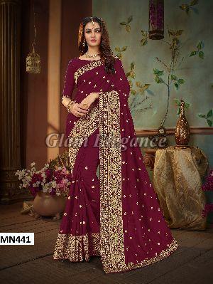 MN441 Manohari Roohi Hit Colors VOL-4 Designer Sarees