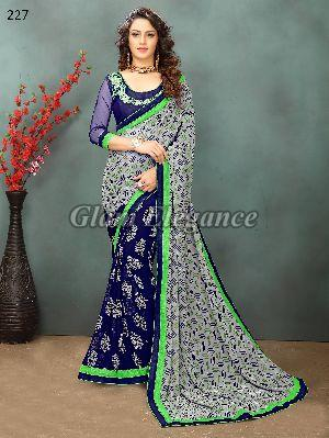 OF227_1 Rubyza-2 Georegette Sarees