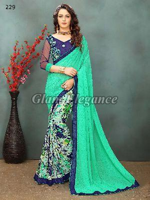 OF229_1 Rubyza-2 Georegette Sarees