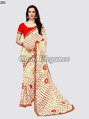 OF290_ Rubyza-3 Georegette Sarees