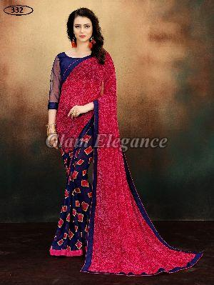 OF332 Rubyza-9 Georegette Sarees