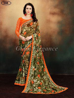 OF338 Rubyza-9 Georegette Sarees