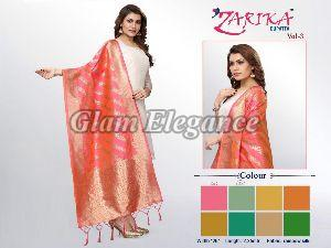 Zarika VOL-3 Rainbow Silk Dupatta 01