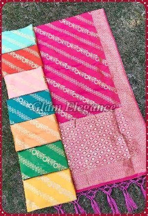 Zarika VOL-3 Rainbow Silk Dupatta 04