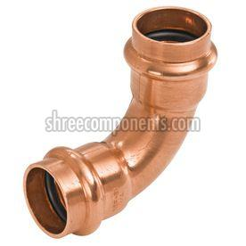 Degree Copper Press Fit Elbow