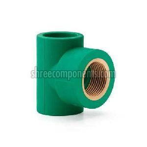 PPR Pipe Threaded Tee