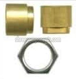 Precision Brass Fuse Holder and Hex Nut