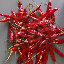 Stemmed Dried Red Chilli
