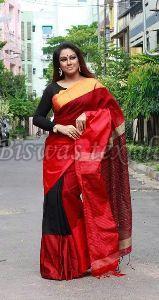 Tussar Silk Printed Saree