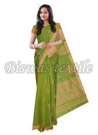 Trendy Linen Saree