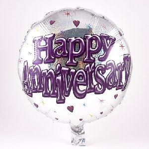 Anniversary Helium Balloons