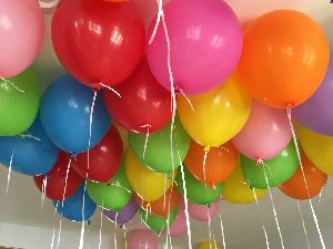 Plain Helium Balloons