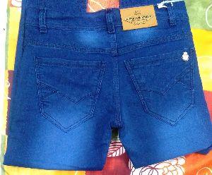 Mens Faded Non Denim Jeans