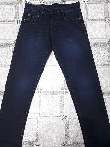 Mens Plain Non Denim Jeans